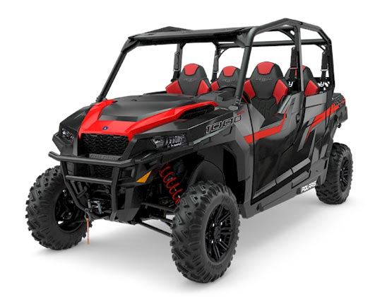 Polaris General 4 1000 Black 2018